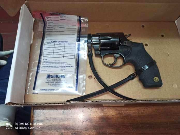 The .32 Taurus revolver