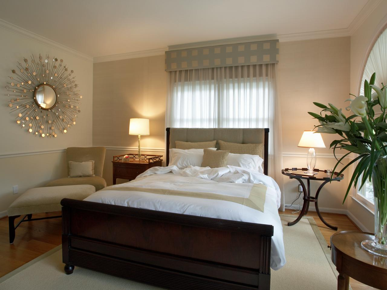 warm bedroom color schemes: pictures, options & ideas | hgtv