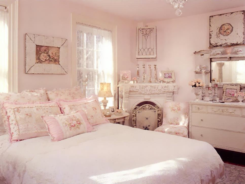 Add Shabby Chic Touches to Your Bedroom Design   HGTV Shop This Look