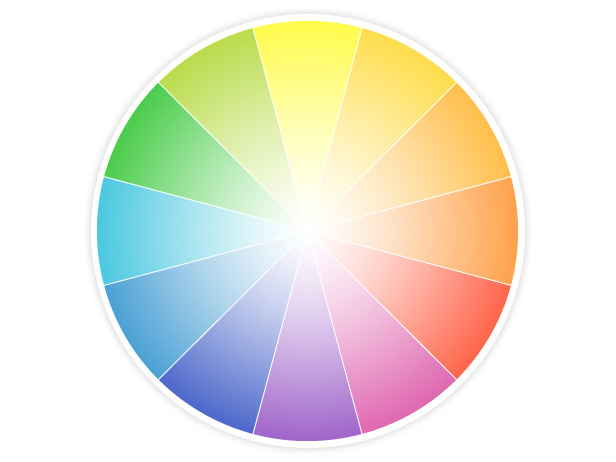Color Wheel For Decorating Living Room Modern House