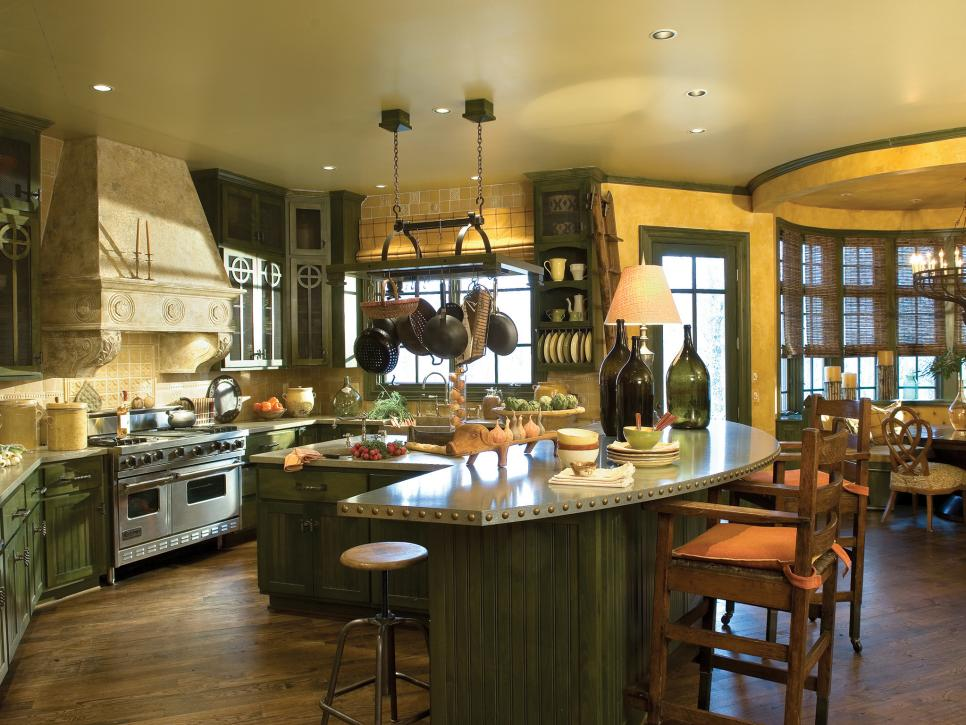 Pictures of Beautiful Kitchen Designs & Layouts From HGTV ... on Beautiful Kitchen  id=73678
