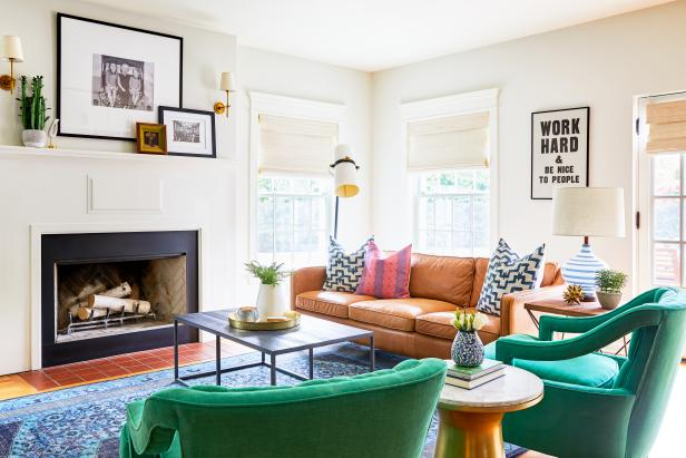 20 Ideas For Adding Color To A Neutral Room HGTV