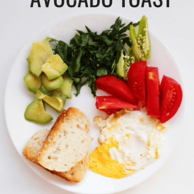 Avocado Egg Toast: Healthy Breakfast Recipe