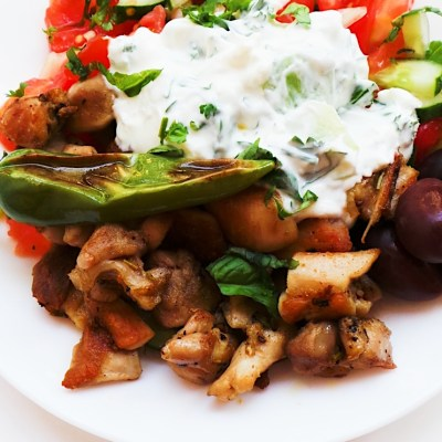 Mediterranean Chicken Bowls | Meal Prep, Low-Carb & Gluten-Free