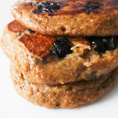 Blueberry Banana Oatmeal Pancakes Recipe