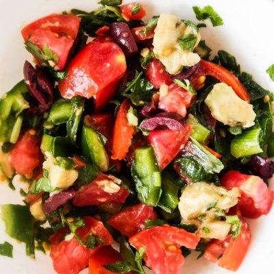 Mediterranean-Style Avocado Tomato Salsa Recipe