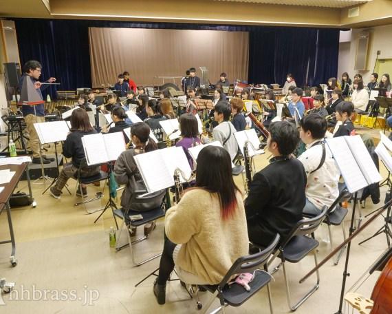 「春一番コンサート2020」高校生の賛助出演者を迎え本格的に練習開始!