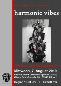 "Konzert Ensemble ""harmonic vibes"" @ Rathaus Alfdorf, Veranstaltungsraum"