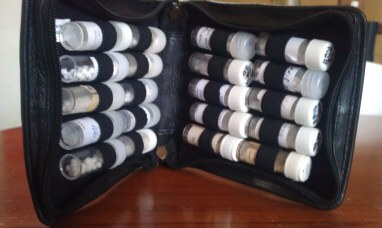 a barefoot homeopath always carries a kit of homeopathic remedieshomeopathy-kit