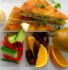 clever packed lunch