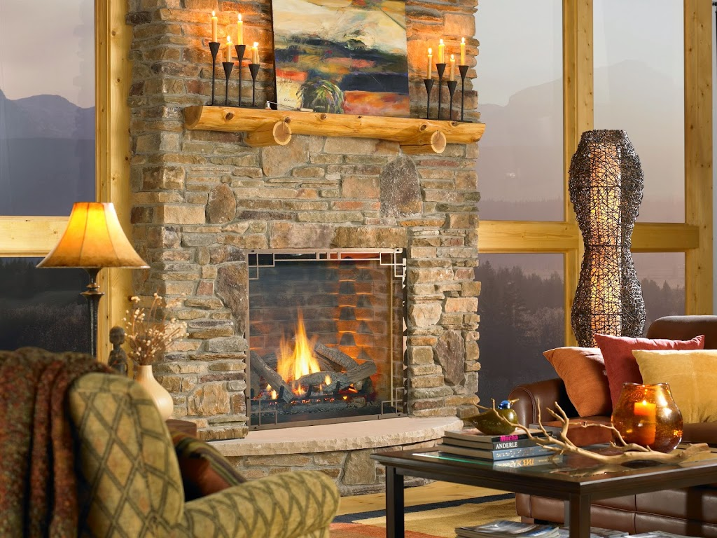 Log Home Look Refined For Rustic Elegance