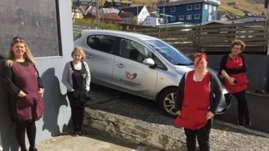 Photo of Vit eita Daysy, Hennvá, Mildrið og Karin.