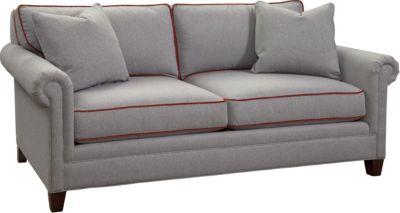 Mercer Small 2 Seat Sofa Panel Arm Thomasville Furniture