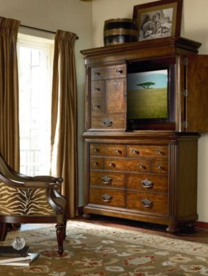 Ernest Hemingway Manyara Media Hutch Only Thomasville