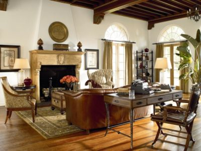 Ernest Hemingway Safari Desk Chair Thomasville