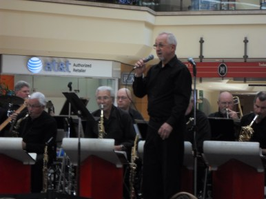 Society For the Preservation of Big Band Music plays at the Memorial Day concert at Puente Hills Mall