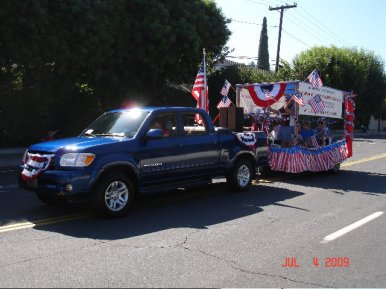 Parade July 2009 Float 02