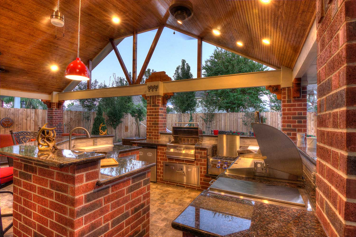 Patio Cover + Outdoor Kitchen - HHI Patio Covers on Outdoor Kitchen Patio id=21385