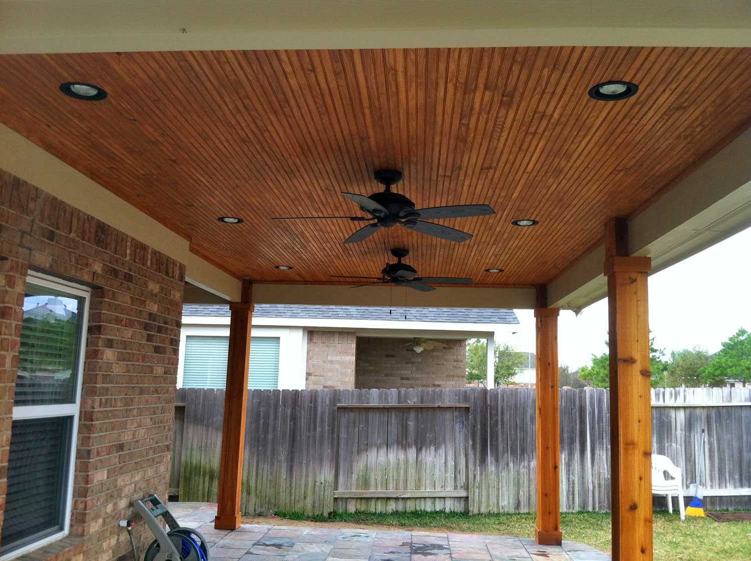 Patio Cover in Houston, TX - HHI Patio Covers on Patio Cover Ideas Wood id=62356
