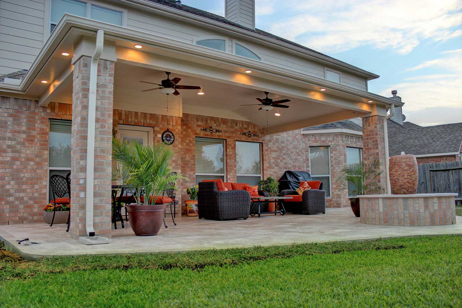 Patio Cover in Cypress, TX - HHI Patio Covers on Backyard Patio Cover Ideas  id=55111