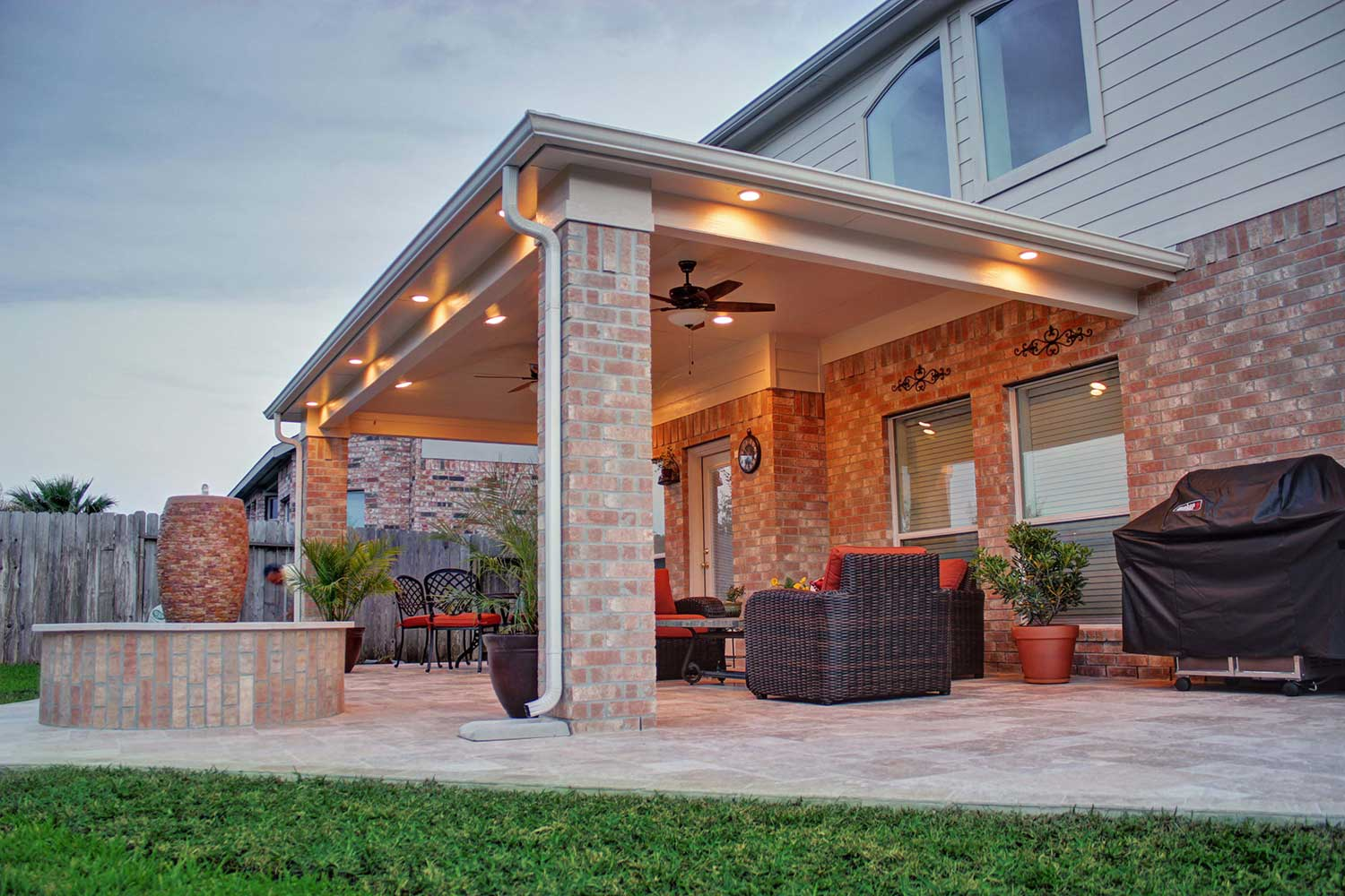 Patio Cover in Cypress, TX - HHI Patio Covers on Backyard Patio Cover  id=30285