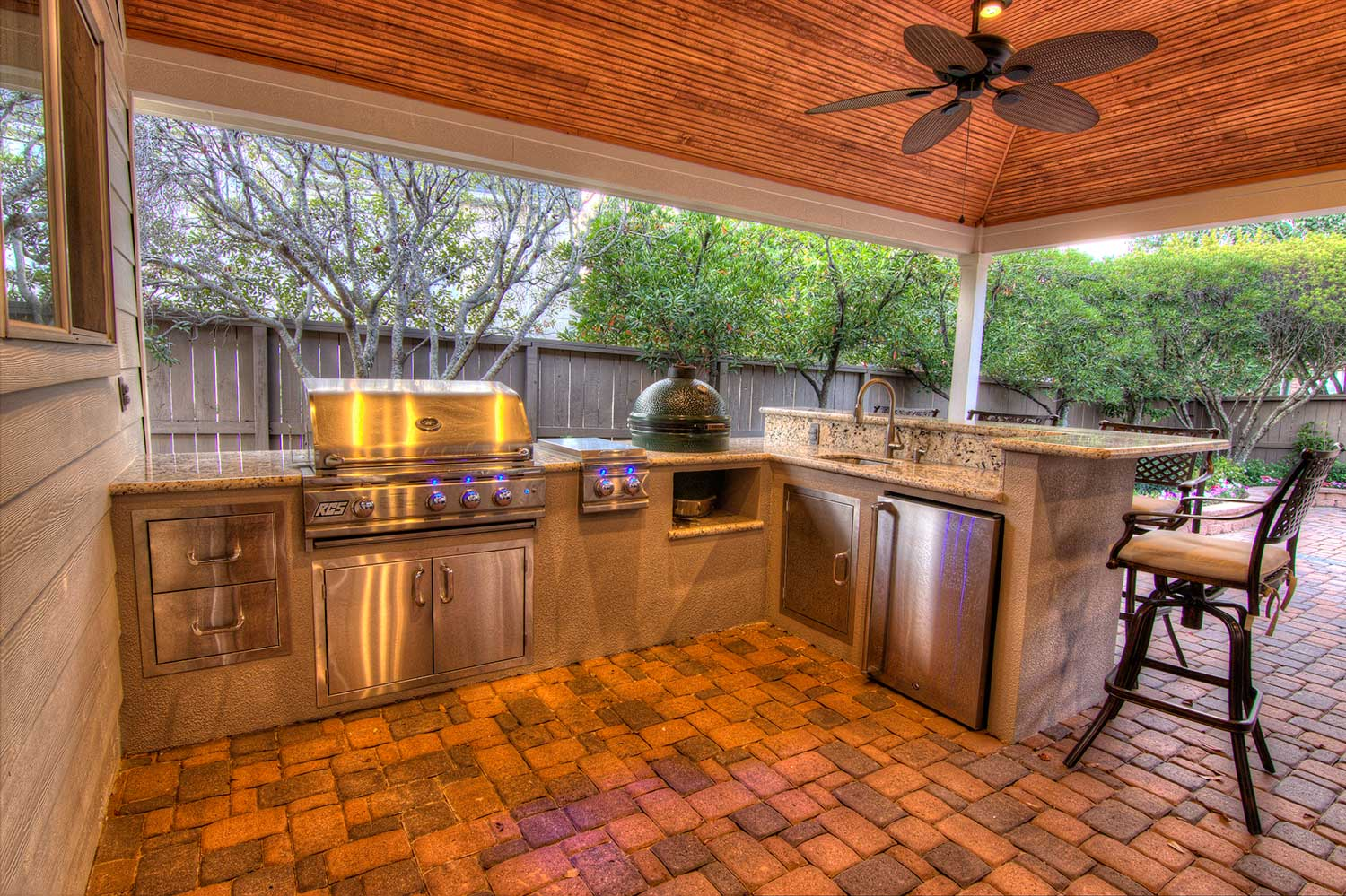 Outdoor Kitchens - HHI Patio Covers Houston on Patio Kitchen  id=51391