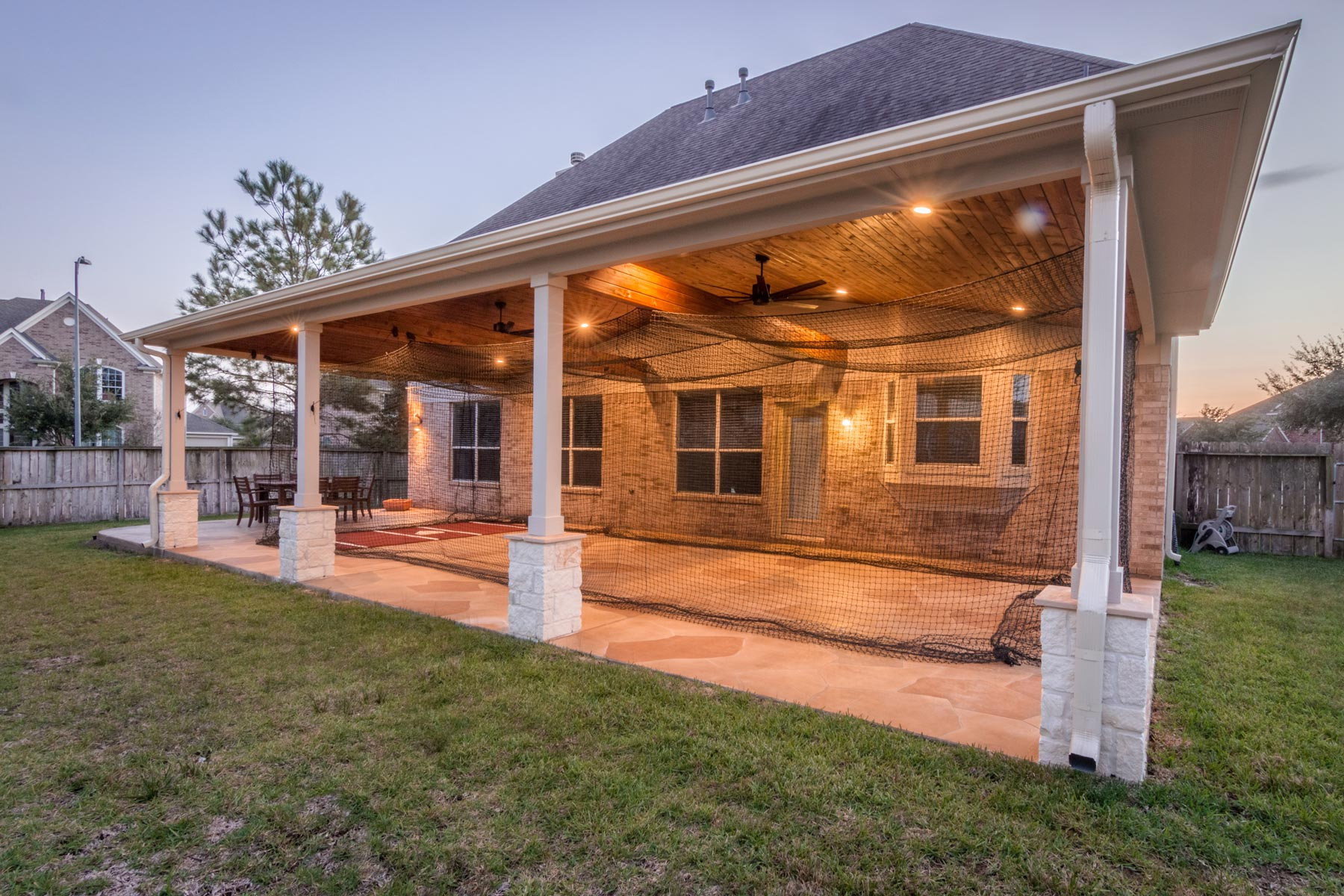 patio cover in cypress tx with