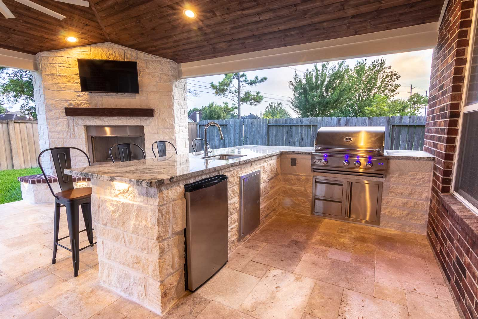 Designing An Outdoor Kitchen To Your Perfection - HHI ... on Patio Kitchen  id=56678