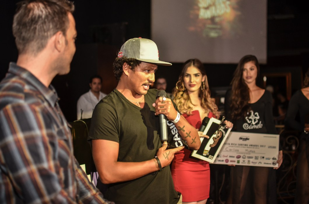 costa rica surfing awards
