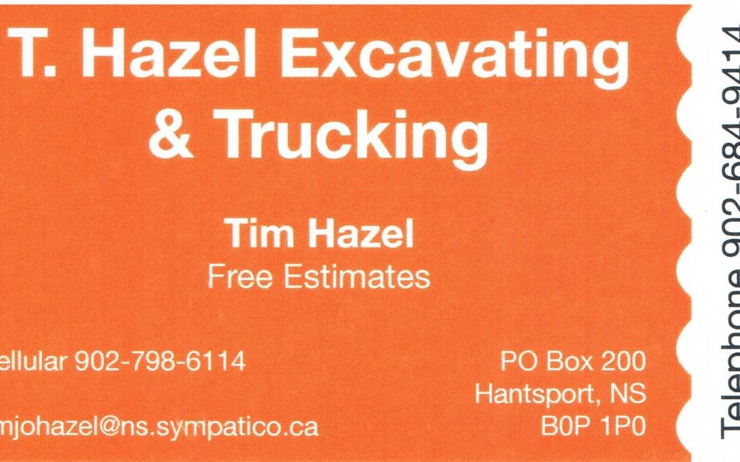 Silver Sponsor – Tim Hazel Excavating