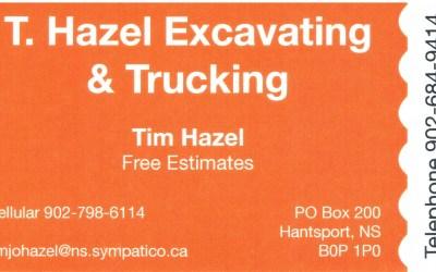 Tim Hazel Excavating and Trucking