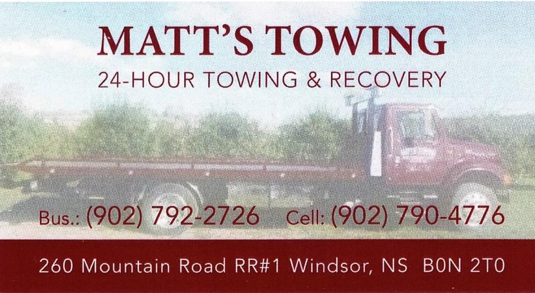 Matts Towing