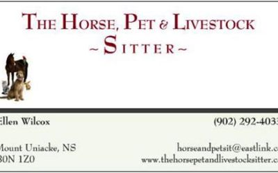 Bronze Sponsor – The Horse, Pet and Livestock Sitter