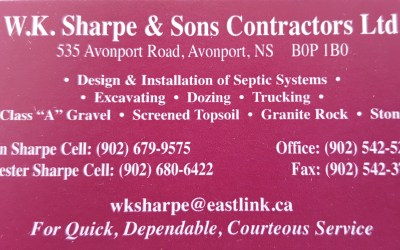 Bronze Sponsor – W.K. Sharpe and Son