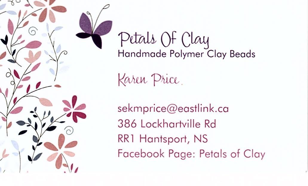 Pedals of Clay Karen Price