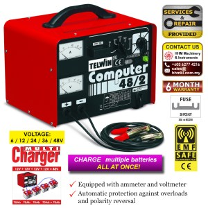 Battery Charger Computer 48-2 Prof