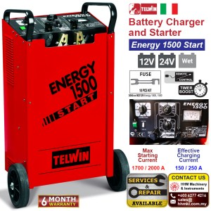 Battery Charger and Starter – Energy 1500 Start