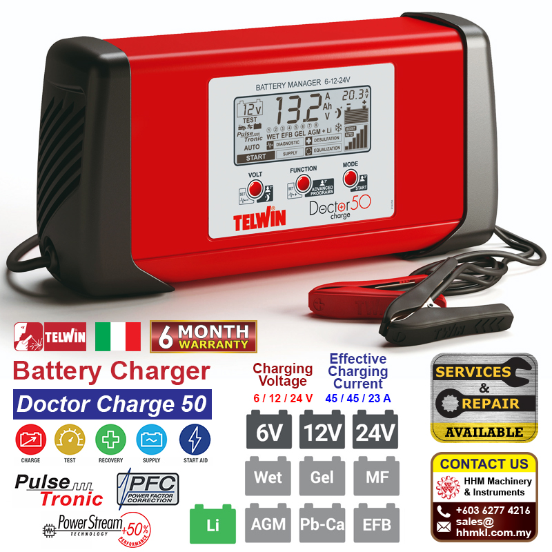 Battery Charger - Doctor Charge 50