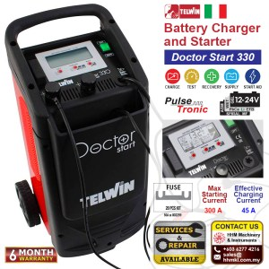 Battery Charger and Starter – Doctor Start 330