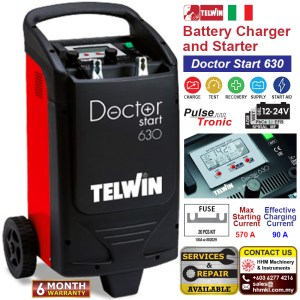 Battery Charger and Starter – Doctor Start 630