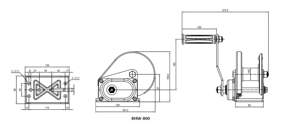 Drawing BHW-800