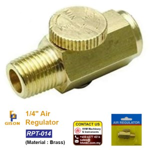 1/4″ Air Regulator RPT-014
