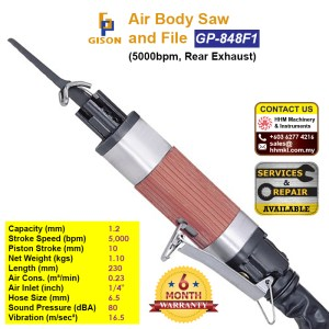 Air Body Saw and File (5000bpm, Rear Exhaust) GP-848F1