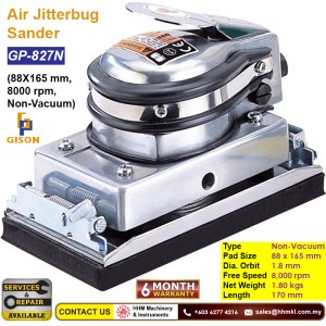 Air Jitterbug Sander (88X165 mm, 8000 rpm, Non-Vacuum) GP-827N