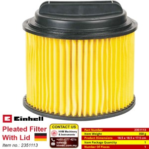 Pleated Filter With Lid 2351113
