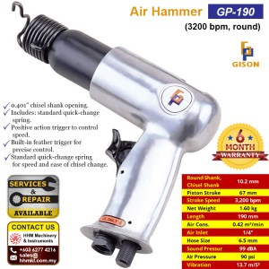 Air Hammer (3200 bpm, round) GP-190