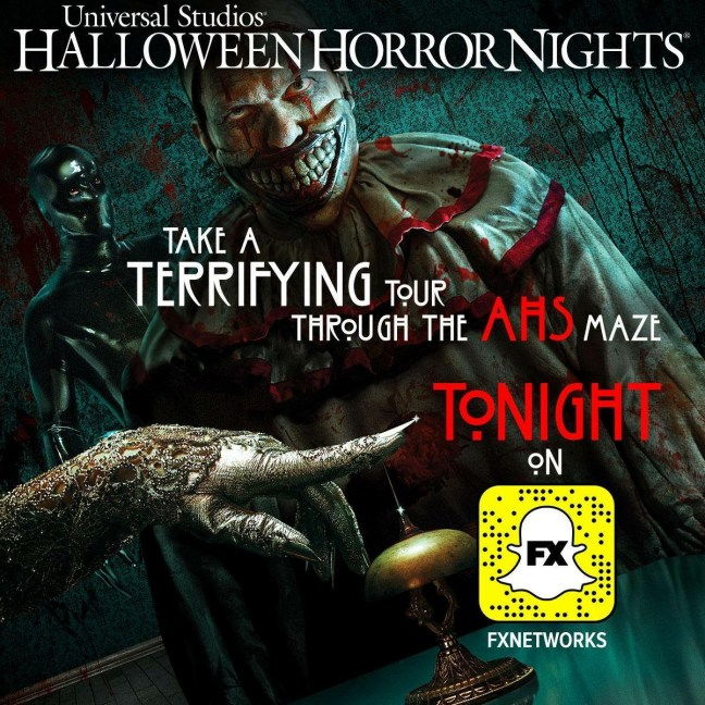 these snaps are an excellent opportunity to get plenty of first looks on what to expect in the houses on both coasts though do keep in mind - Hours Halloween Horror Nights
