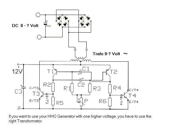 HHO Generator Power Supply