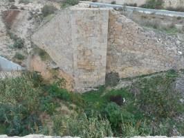 Vista superior del Puente