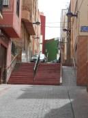 Barrio del Carmen, escaleras y rampas